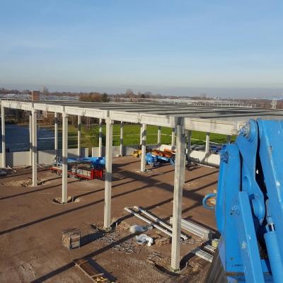 Nieuwbouw industriehal en kantoren in Oosterhout  afb